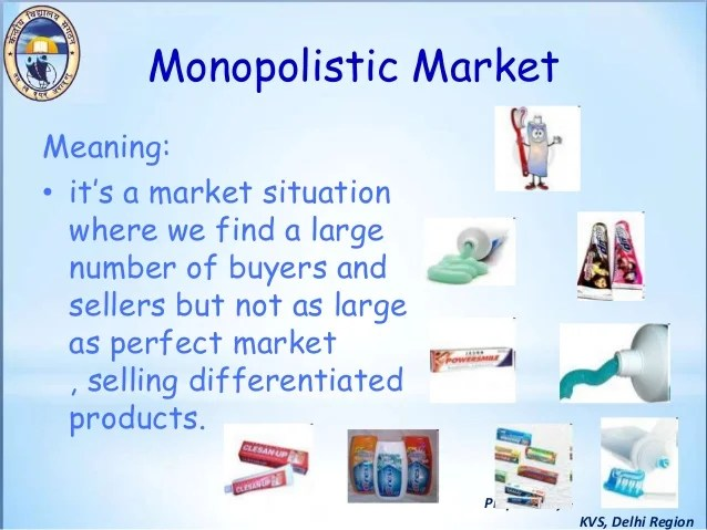 Demand Curve Downward Sloping Monopoly