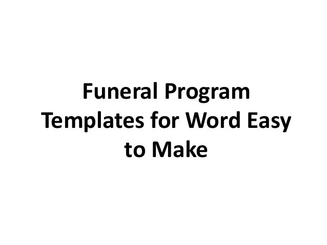 sample service homeward bound 003 by loswl on deviantart – Free Memorial Program Template