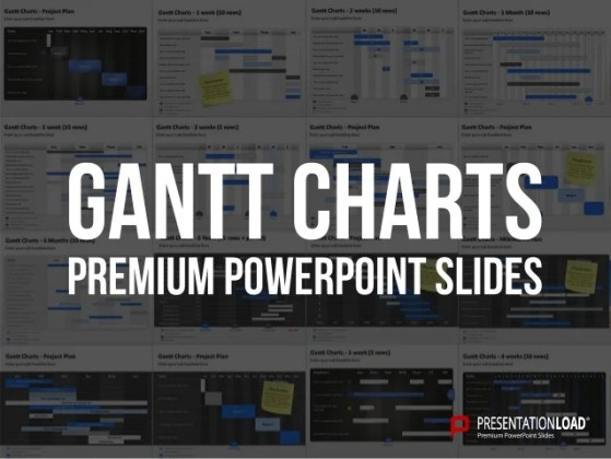 PowerPoint Gantt Charts Template PowerPoint Gantt Charts Template  Tasks Sun Mon Tues Wed Thurs Fri Sat  Placeholder for your own text Placeholder text This