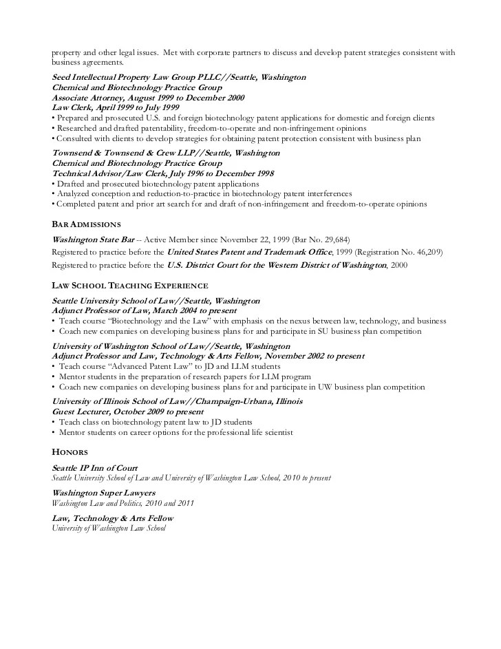 Patent Analyst Cover Letter