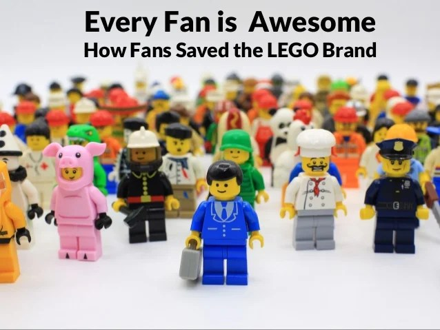 Every Fan is Awesome  How Fans Saved the LEGO Brand
