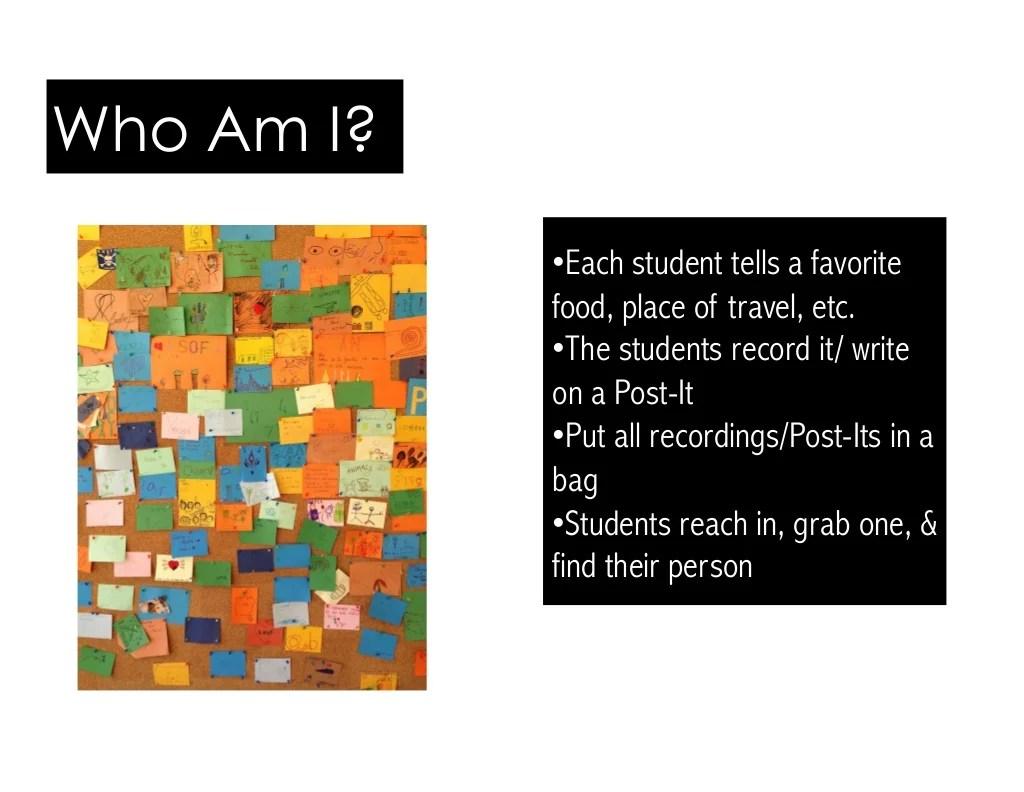 Each Student Tells A Favorite