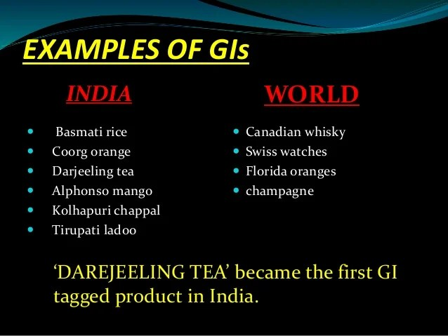 Image result for Geographical Indication (GI)