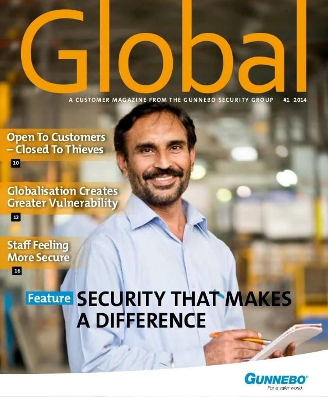 Global Magazine Security