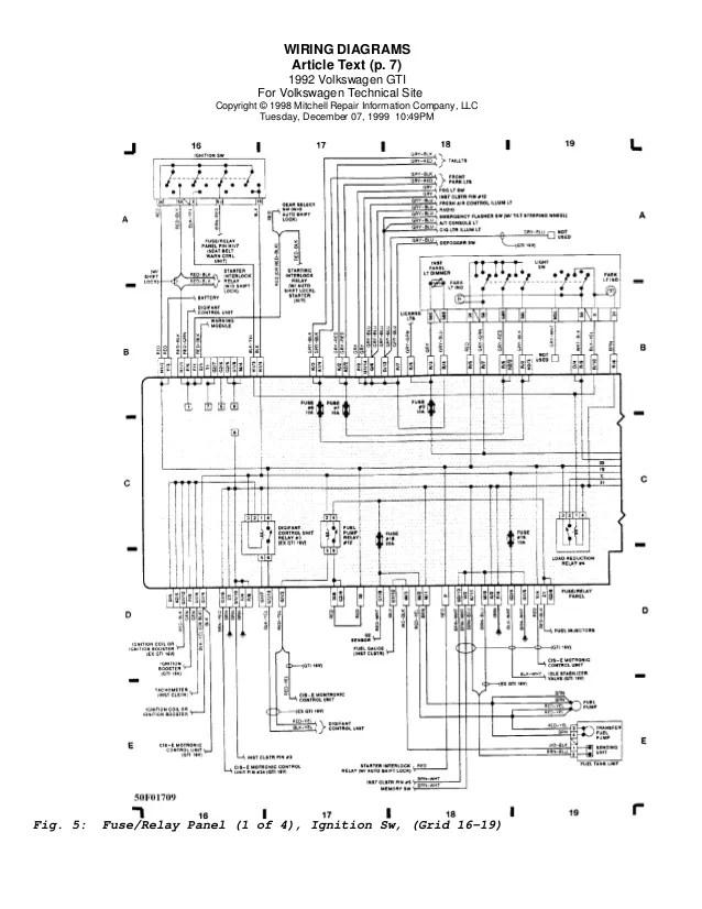 vw golf wiring diagram  description wiring diagrams energy