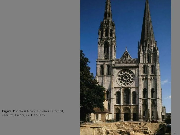 Royal Cathedral Chartres Artist Portal 1145 Jamb Statues C 1155 Gothic