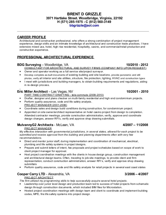 drafter resume cv templates engineering civil project engineer