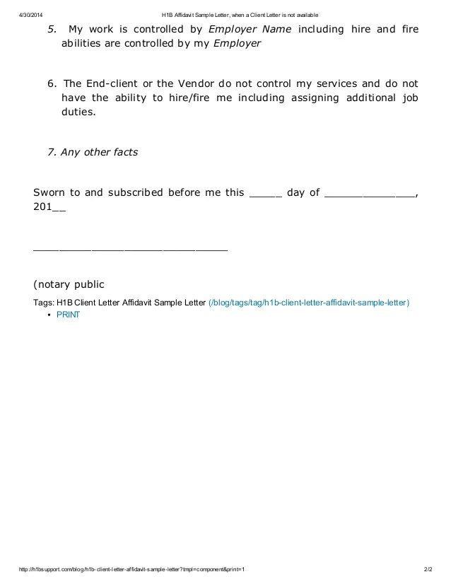 Template For Affidavit sample name form sample forms personally – Affidavit Samples