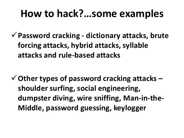 Image result for examples of hacking