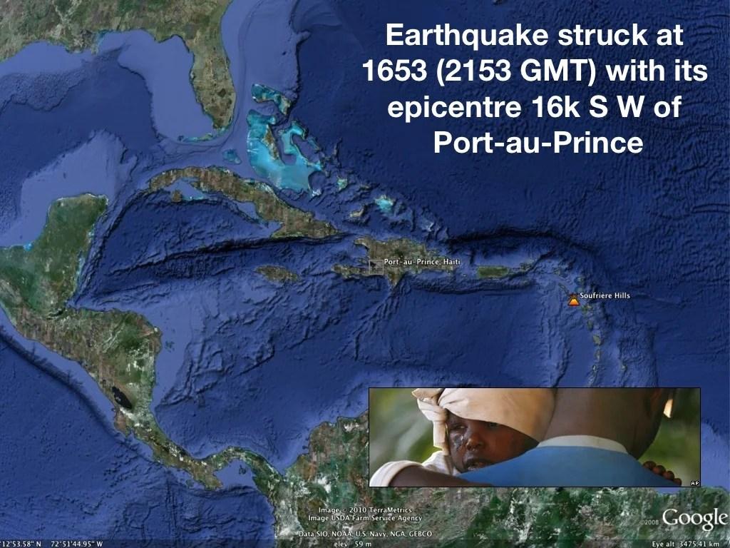 Earthquake Struck At