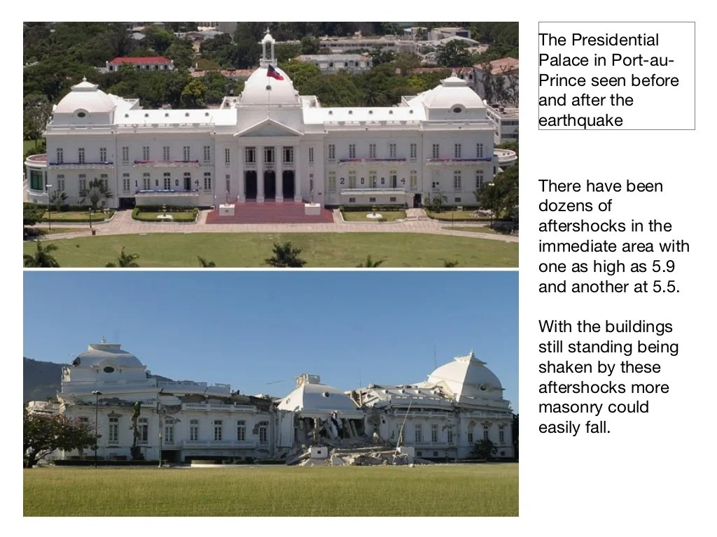 The Presidential Palace In Port Au Prince