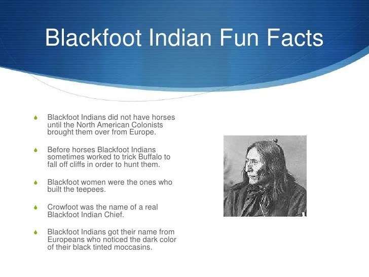 Blackfoot Indians Clothing