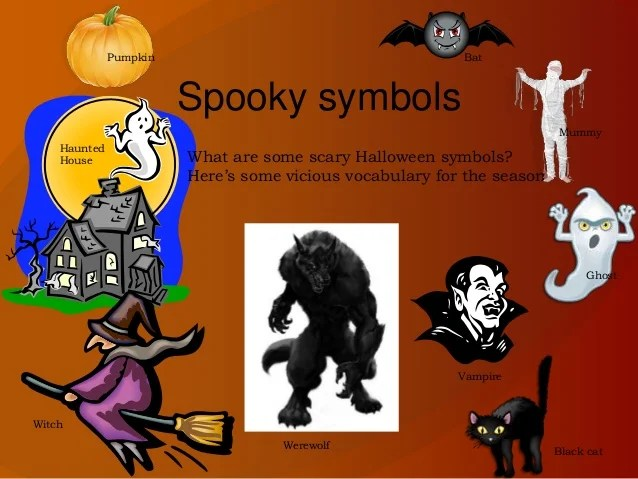 What Are Some Symbols Of Halloween Frameimage