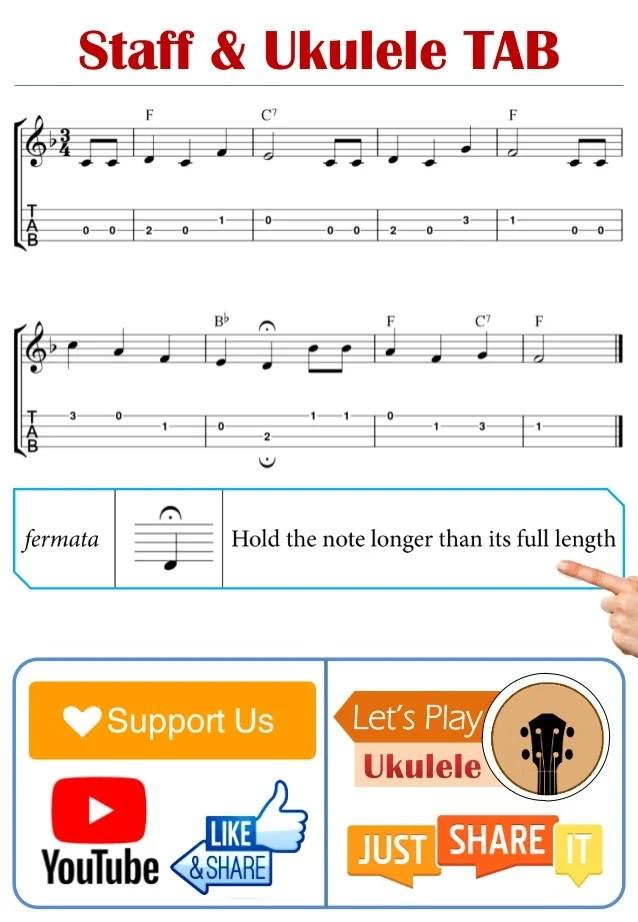 Happy Birthday Ukulele Sheet Music Epic Sheet Music