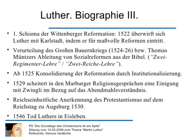 martin luther steckbrief # 35