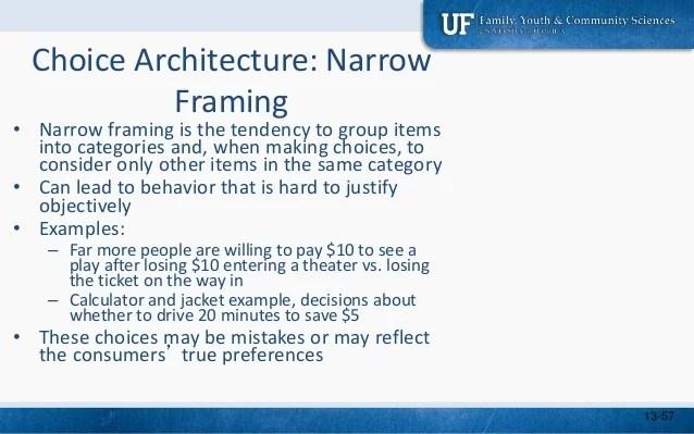 Narrow Framing Psychology | Viewframes.org