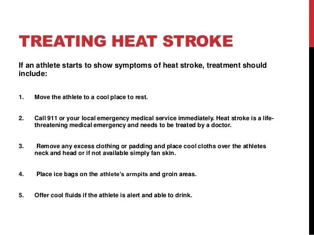 Heat Illness Athletes