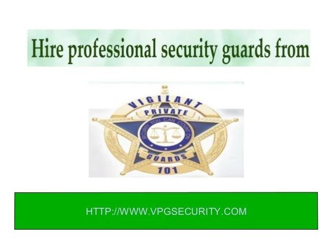 Hire Security Event