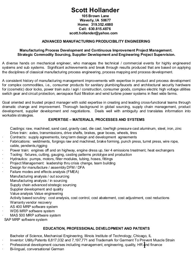 professional resume for process engineer uncategorized