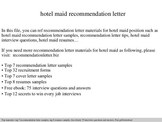 Sample Offer Letter For Housemaid | Anexa Cloud
