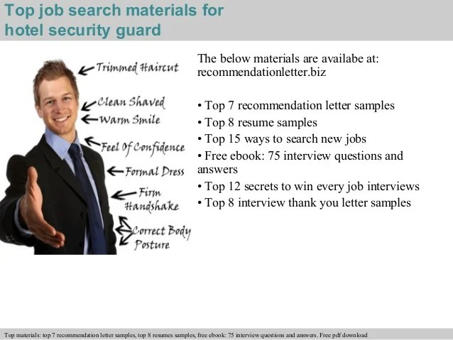 Security Guard Interview Questions And Answers Dubai Pdf