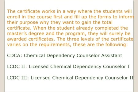 Fancy Certified Chemical Dependency Counselor Ensign - Anatomy And ...