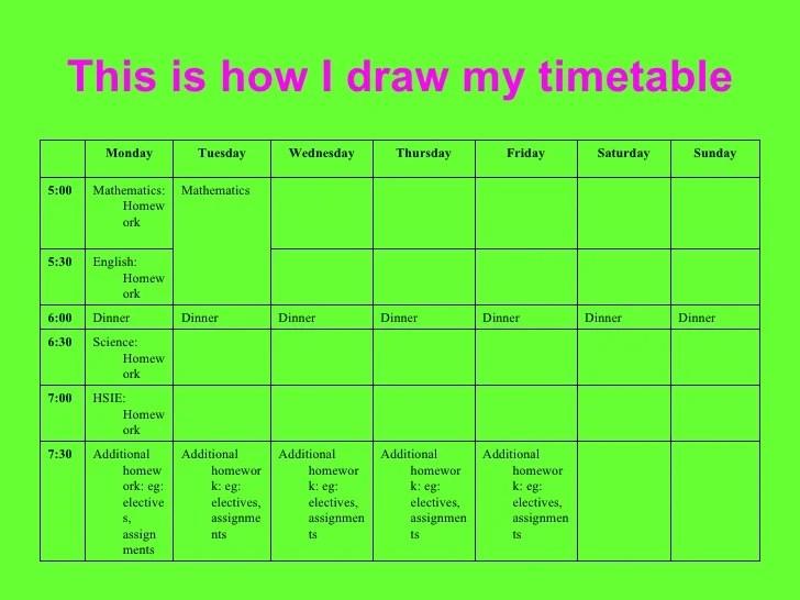11+ Study Plan Template | Plantemplateinfo  Study Schedule