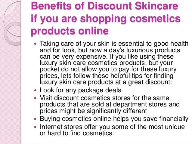 How To Find Good, Discount Skincare Cosmetics Products