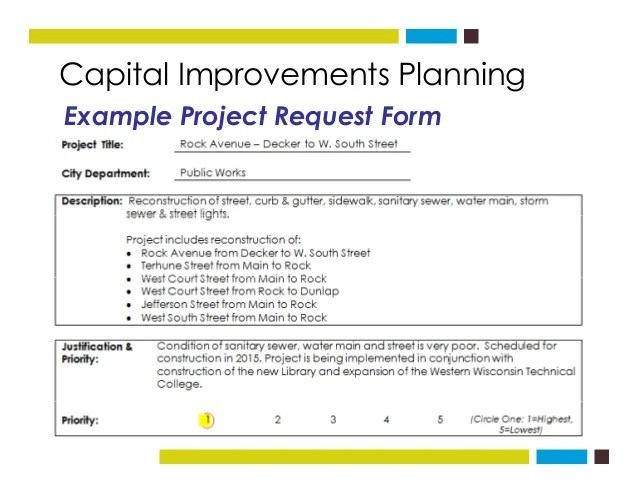 How To Plan Fund Capital Improvements Projects
