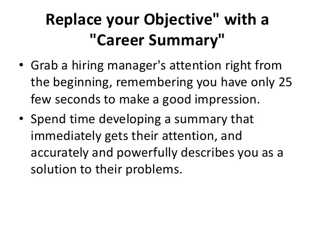how to prepare effective resume for freshers