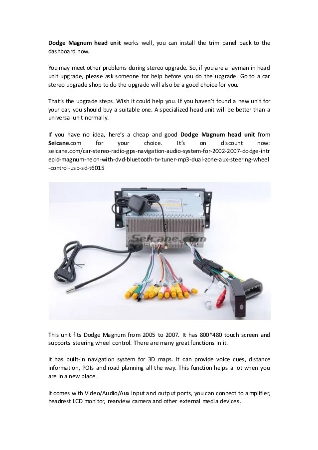 dodge magnum radio wiring diagram full hd version wiring