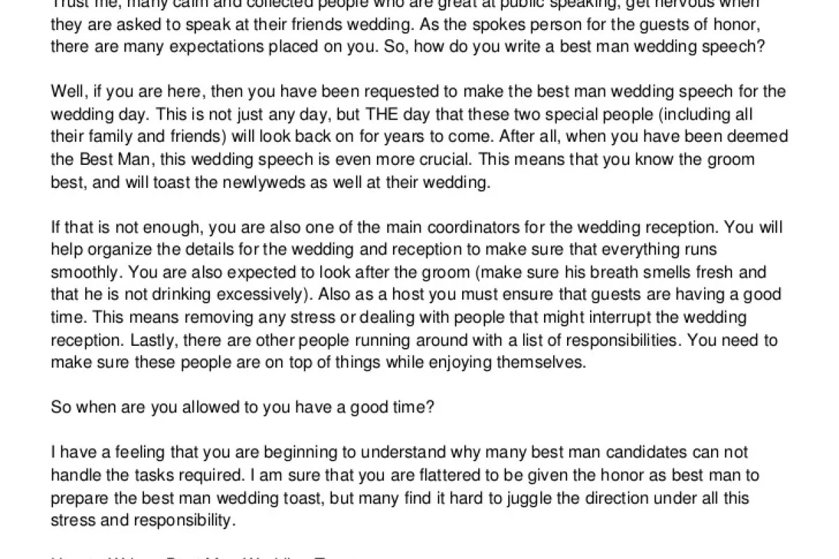 WRITING THE BEST WEDDING SPEECH – SPECOTHSIO1989