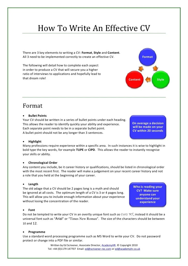 Effective Resume Examples. Resume Samples Examples Of Effective