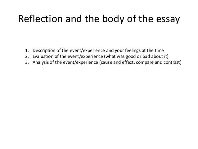 Reflective Type Of Essay Writting - image 8