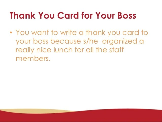 How To Write A Formal And Informal Thank You Card