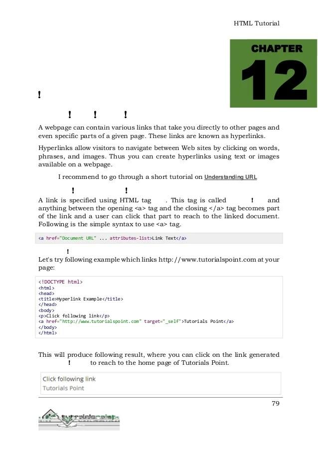Frame Tag Tutorialspoint | Siteframes.co