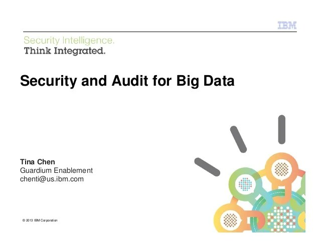 Audit Data Security