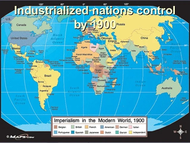U S Imperialism Map 1800s