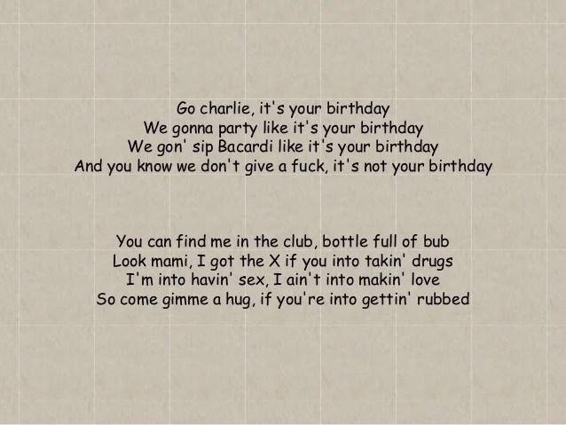 In Da Club Lyrics