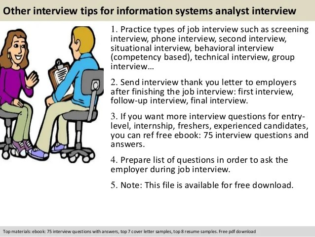 information systems interview questions