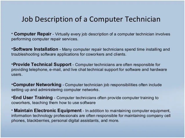 Image result for Information Technology Job Requirements