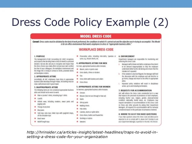 sample memo for business attire sample business letter. violation ...