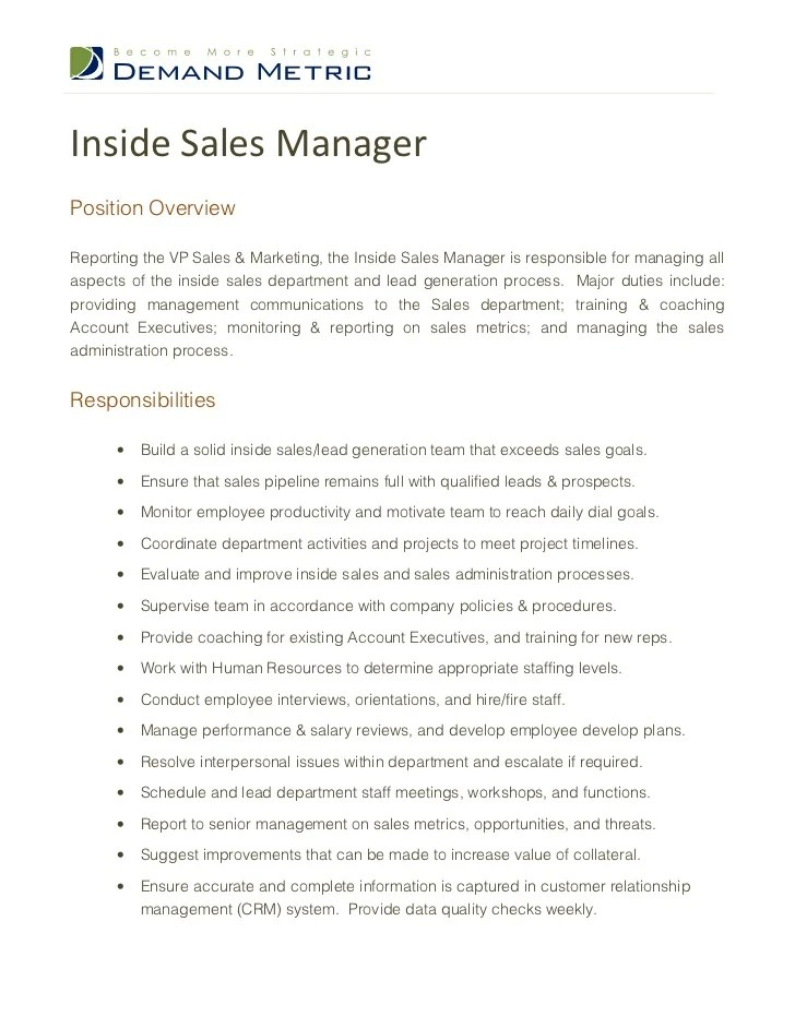Inside Sales Resume Objective. Templates Showcase Your How Write S