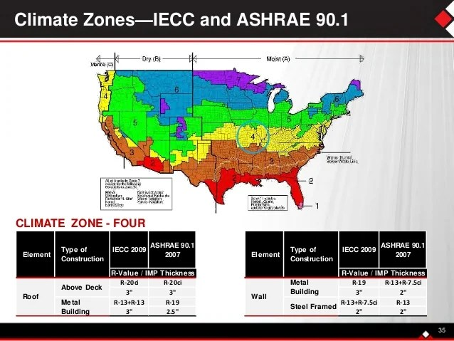 Ashrae 90 1 Climate Zones By State