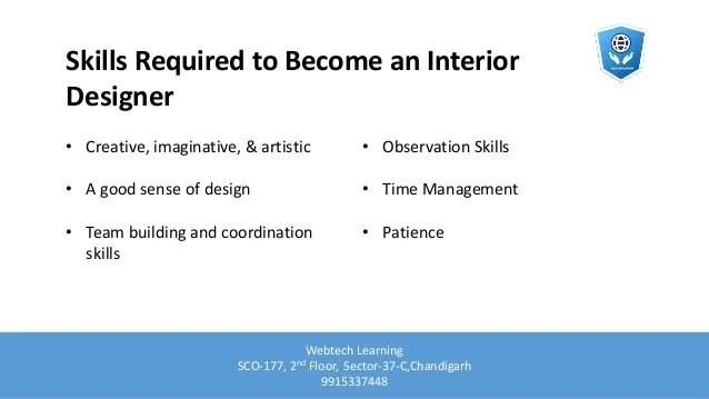 Be Interior Designer Qualifications
