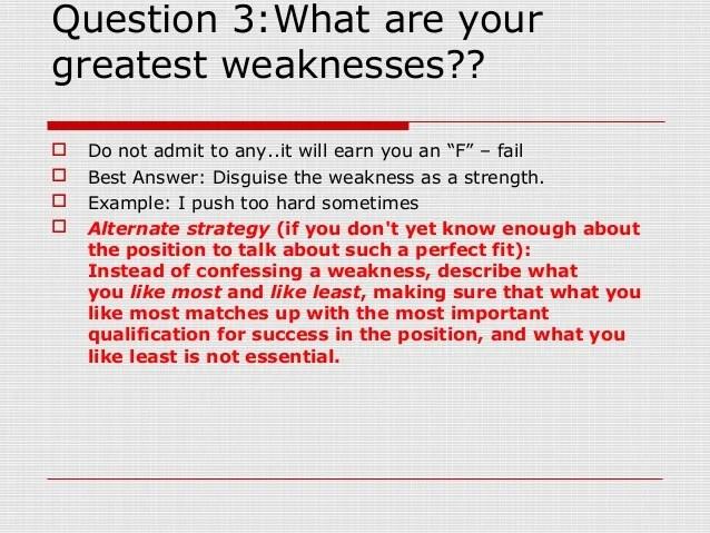 list of weaknesses interview job strengths list tk job weaknesses ...