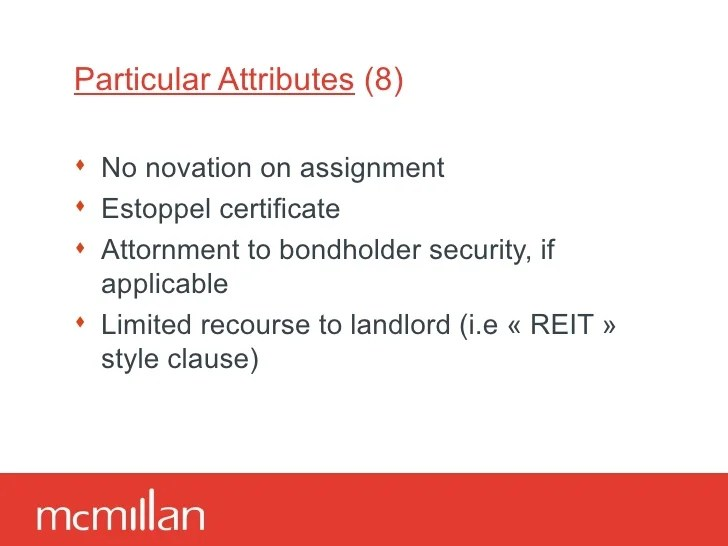 Estoppel Certificate Landlord
