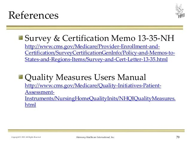 Medicare Survey And Certification Letters | Letterjdi.org