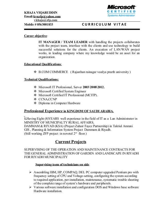 Resume For Warehouse Team Leader. cv team leader leadership skills ...