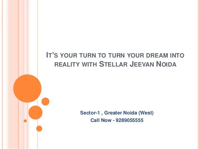 It's Your Turn To Turn Your Dream Into Reality With